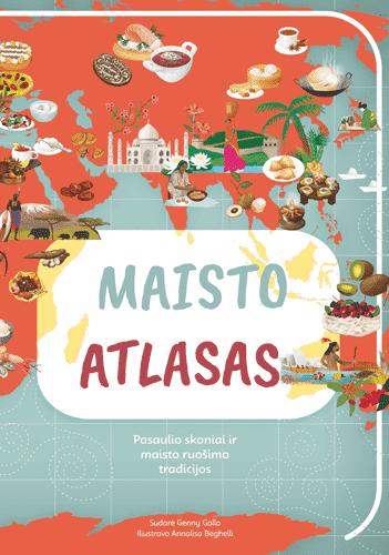Maisto atlasas   Annalisa Beghelli, Genny Gallo