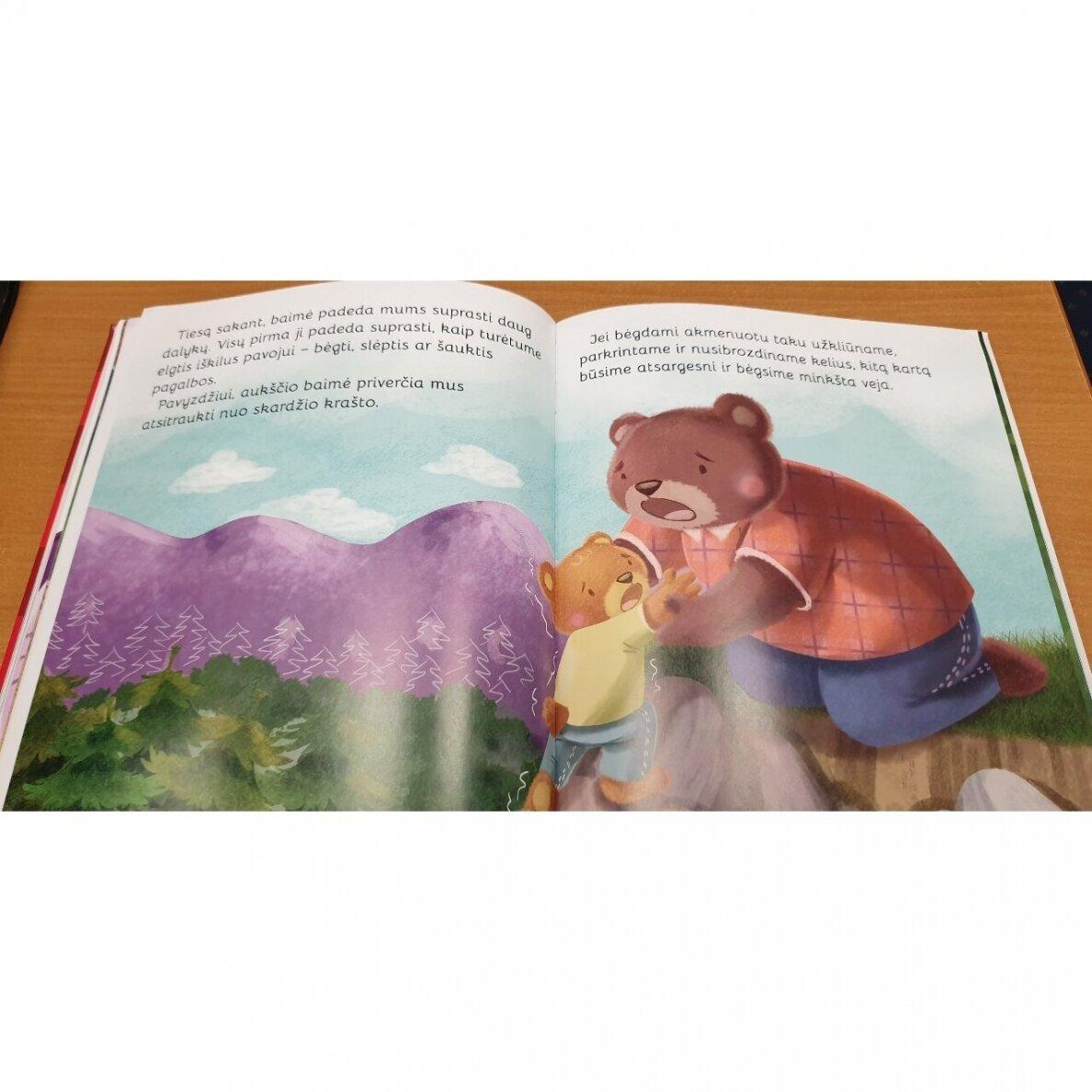 Mano didžioji emocijų knyga. Puikūs trumpi pasakojimai apie emocijas ir jausmus |