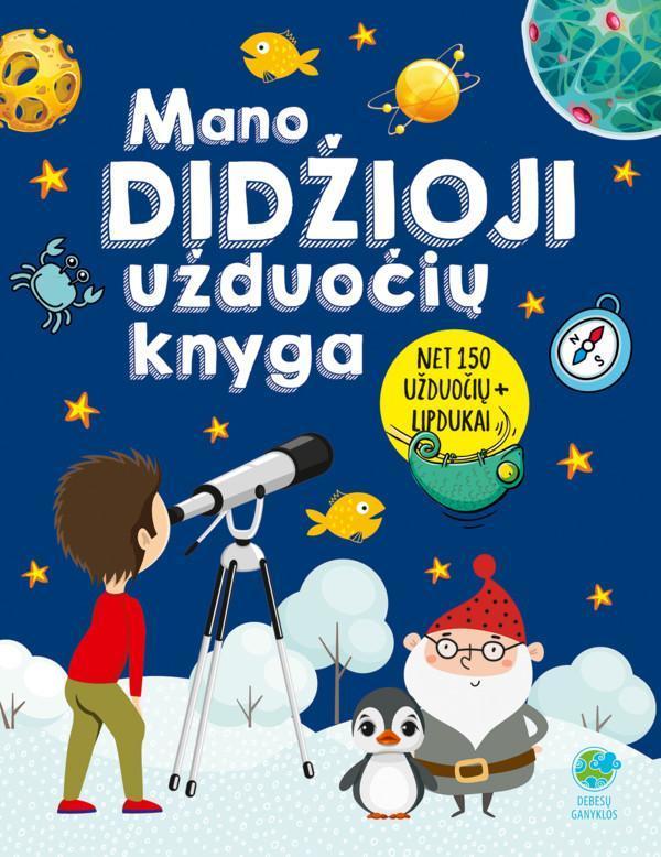 Mano didžioji užduočių knyga | Ingrida Zumbrickaite