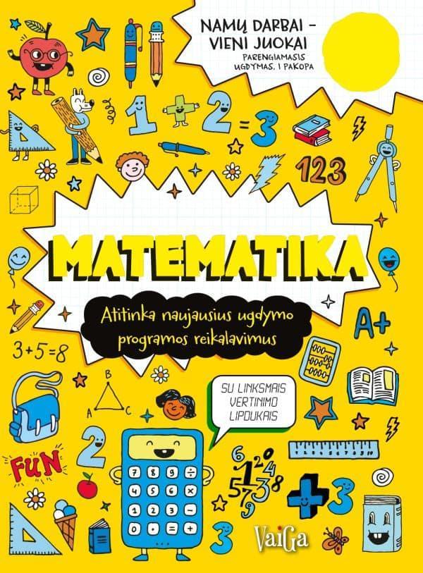 Matematika. Namų darbai – vieni juokai (5+) |