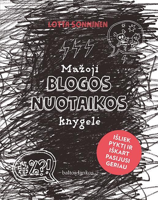 Mažoji blogos nuotaikos knygelė | Lotta Sonninen