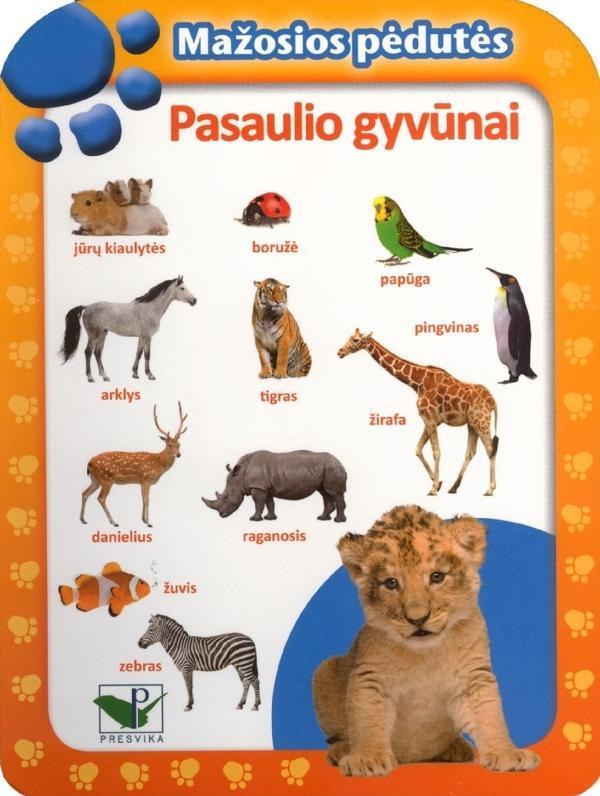Mažosios pėdutės. Pasaulio gyvūnai |