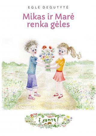 Mikas ir Marė renka gėles (serija