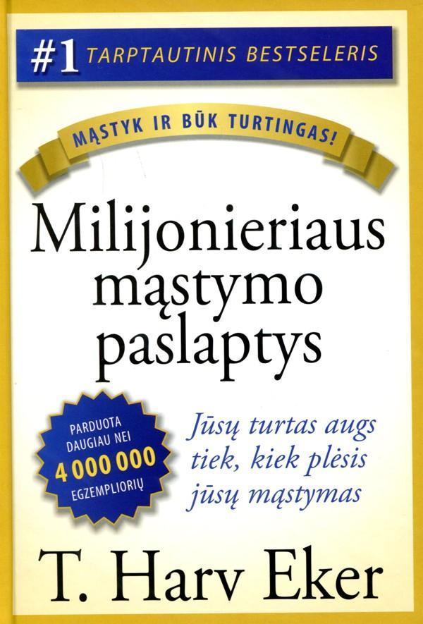 Milijonieriaus mąstymo paslaptys | T. Harv Eker