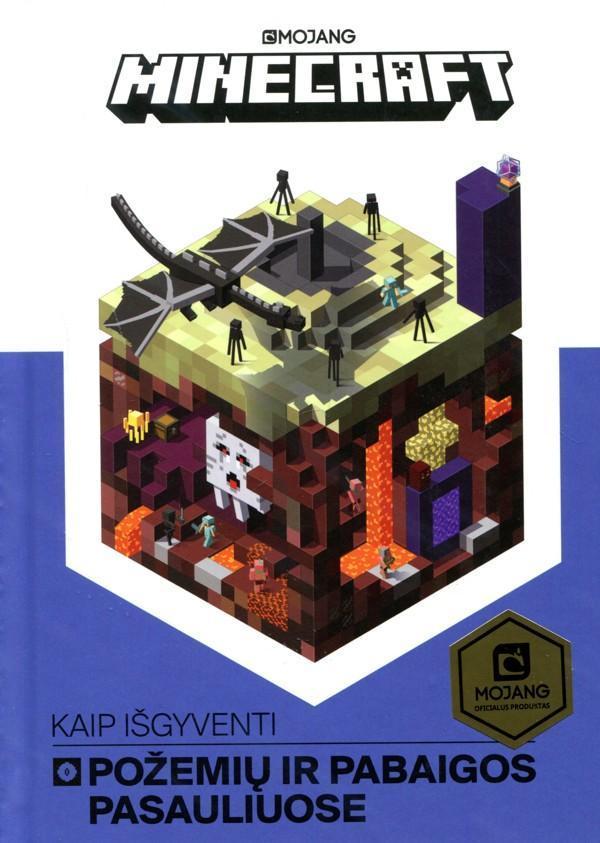 Minecraft. Kaip išgyventi Požemių ir Pabaigos pasauliuose  