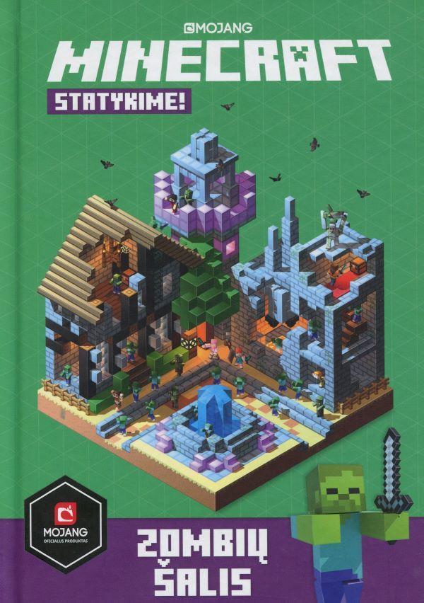 Minecraft. Statykime! Zombių žemė | Stephanie Milton