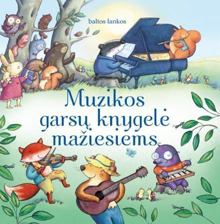Muzikos garsų knygelė mažiesiems | Fiona Watt