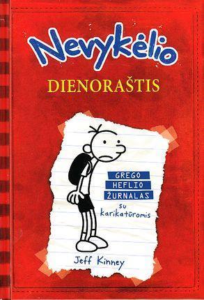 Nevykėlio dienoraštis 1. Grego Heflio žurnalas su karikatūromis   Jeff Kinney