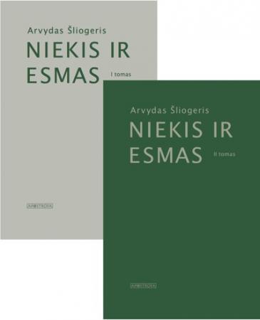 Niekis ir Esmas, I ir II tomai | Arvydas Šliogeris