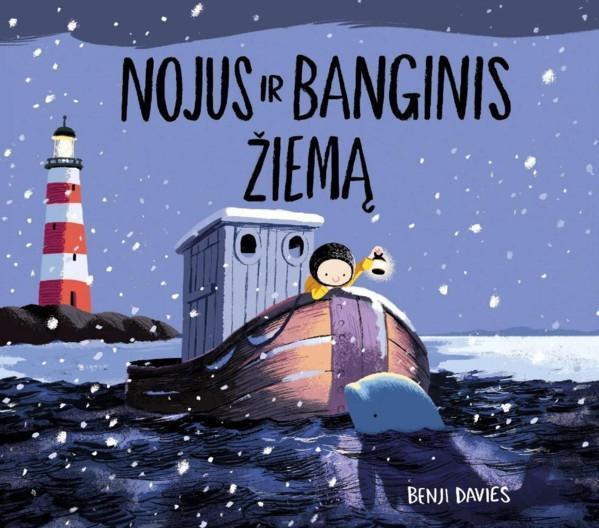 Nojus ir banginis žiemą | Benji Davies