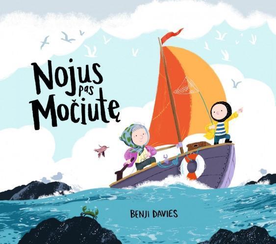 Nojus pas močiutę | Benji Davies