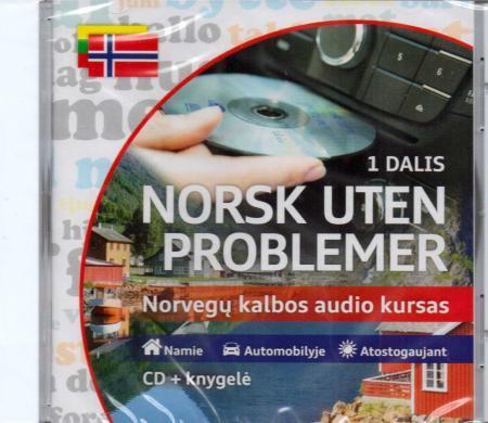 Norsk uten problemer. Norvegų kalbos audio kursas (CD+knygelė) |