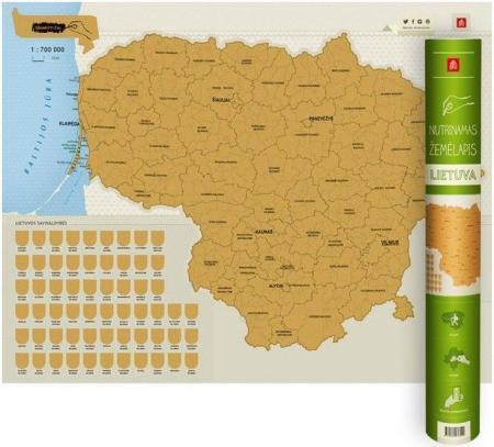 Nutrinamas žemėlapis