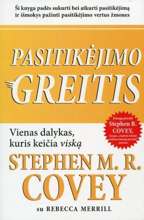 Pasitikėjimo greitis | Stephen R. Covey