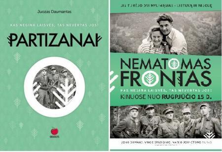 Partizanai + Nematomas frontas (DVD)   Juozas Daumantas