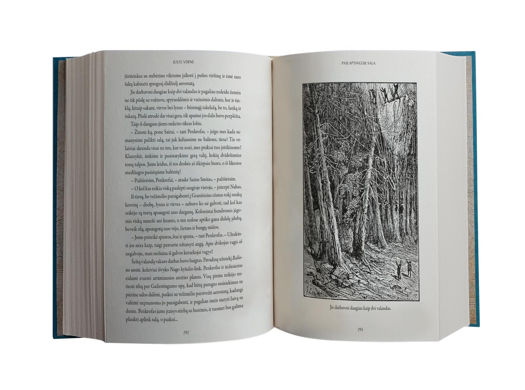 Paslaptingoji sala | Jules Verne (Žiulis Vernas)