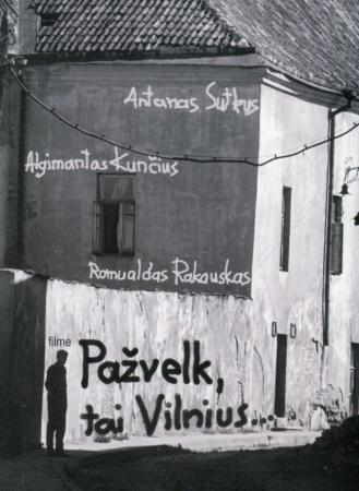 Pažvelk, tai Vilnius (DVD) | Liudvika Pociūnienė, Domantas Vildžiūnas, Petras Savickis