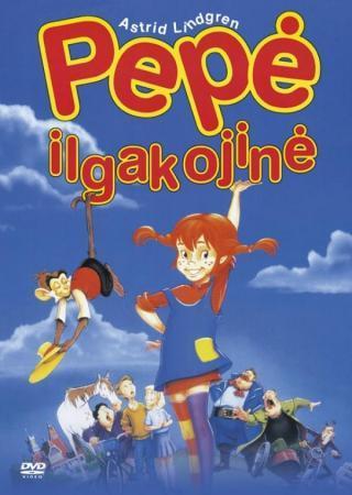 Pepė Ilgakojinė (DVD, PAL formatas) |