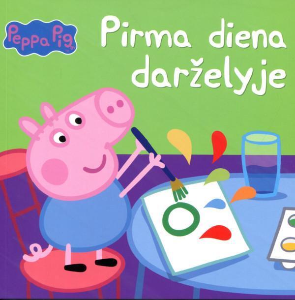 Peppa Pig. Pirma diena darželyje |