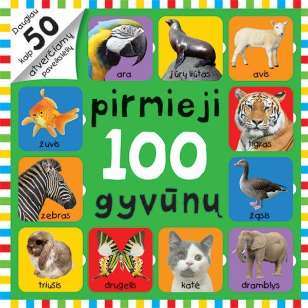 Atversk paveikslėlius. Pirmieji 100 gyvūnų |