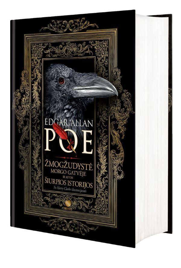 Žmogžudystė Morgo gatvėje ir kitos šiurpios istorijos | Edgar Allan Poe
