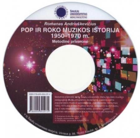 Pop ir roko muzikos istorija (CD) | Romanas Andriuškevičius