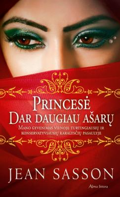 Princesė. Dar daugiau ašarų   Jean Sasson