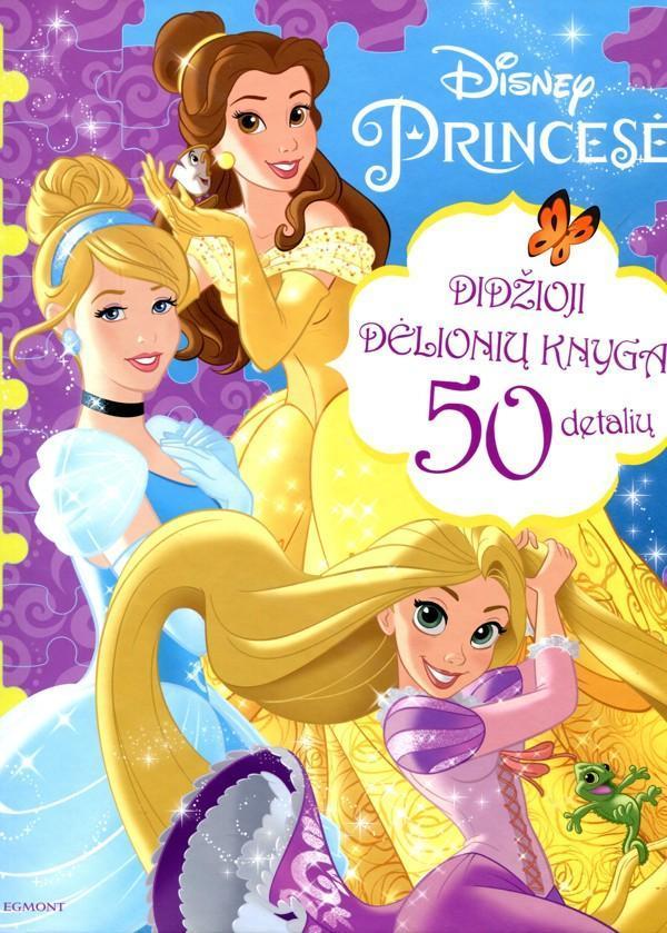 Princesė. Didžioji dėlionių knyga  