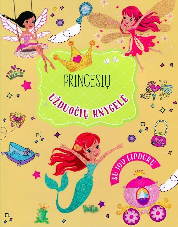 Princesių užduočių knygelė (su 100 lipdukų) |