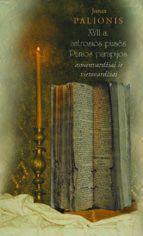 XVII a. antrosios pusės Punios parapijos asmenvardžiai ir vietovardžiai | Jonas Palionis