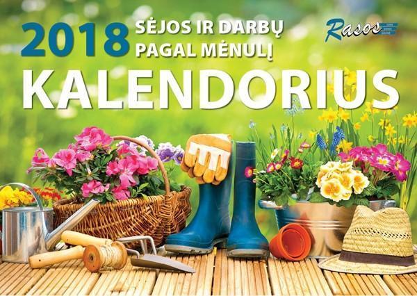 2018 m. sėjos ir darbų pagal Mėnulį kalendorius  