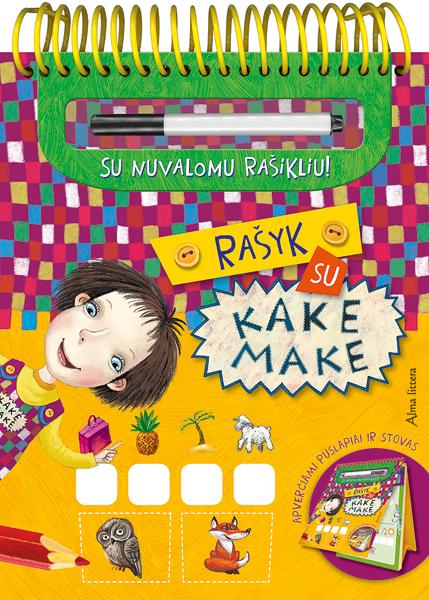 Rašyk su Kake Make (su nuvalomu rašikliu)  