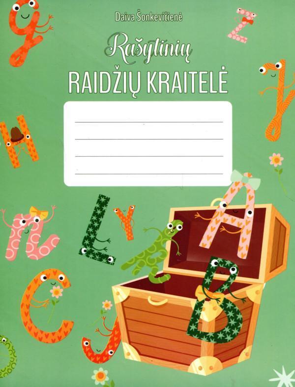 Rašytinių raidžių kraitelė | Daiva Šonkevičienė