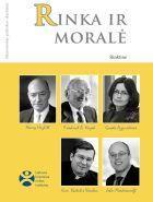Rinka ir moralė (Ekonominės politikos skaitiniai)   Lietuvos laisvosios rinkos institutas