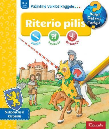 Riterio pilis. Pažintinė veiklos knygelė  