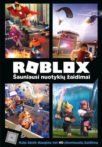 Roblox. Šauniausi nuotykių žaidimai |