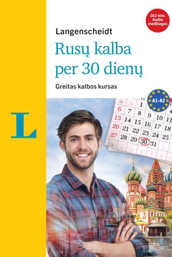 Rusų kalba per 30 dienų (su 3CD audio medžiaga) | Antje Razuev, Natalia Hood
