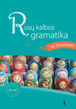 Rusų kalbos gramatika su pratimais A1-A2 | Ana Jankelevič