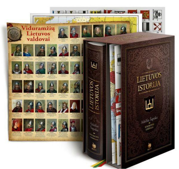 Lietuvos istorija (kolekcinis A. Šapokos knygos leidimas) | Adolfas Šapoka