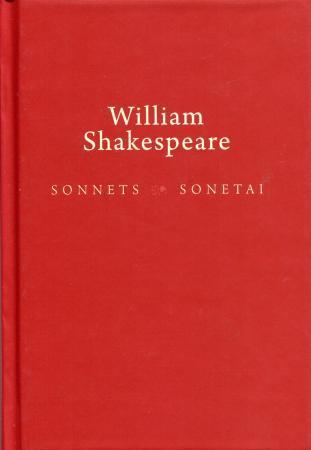 Sonnets / Sonetai | Viljamas Šekspyras (William Shakespeare)