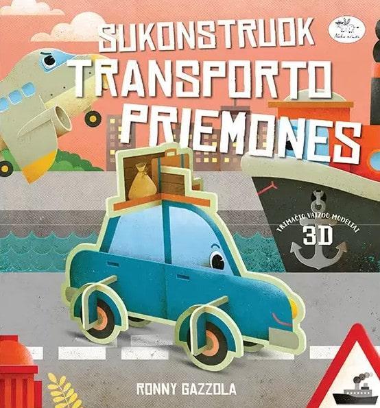 Sukonstruok transporto priemones | Ronnie Gazzola
