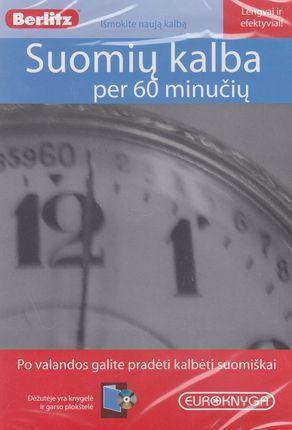 Suomių kalba per 60 minučių (CD + knyga) |