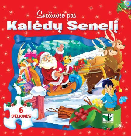 Svečiuose pas Kalėdų Senelį (su 6 dėlionėmis) |
