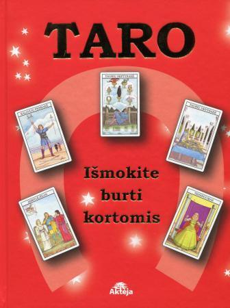 Taro. Išmokite burti kortomis (su 78 kortų malka) (raudona) |