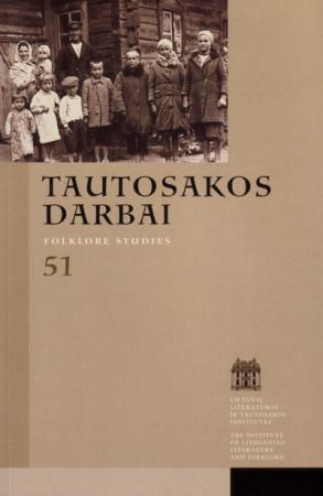 Tautosakos darbai T. 51 (LI) |