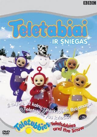 Teletabiai ir sniegas (DVD) |