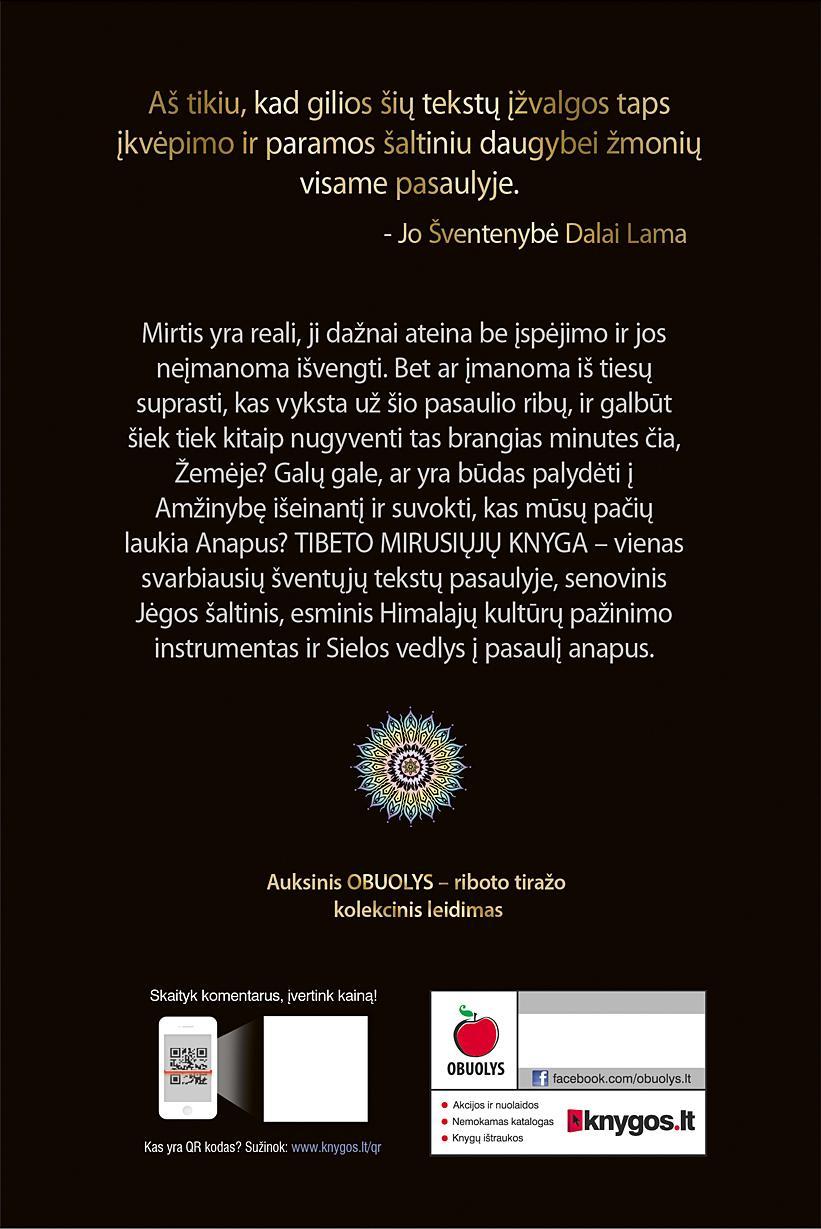 Tibeto mirusiųjų knyga |
