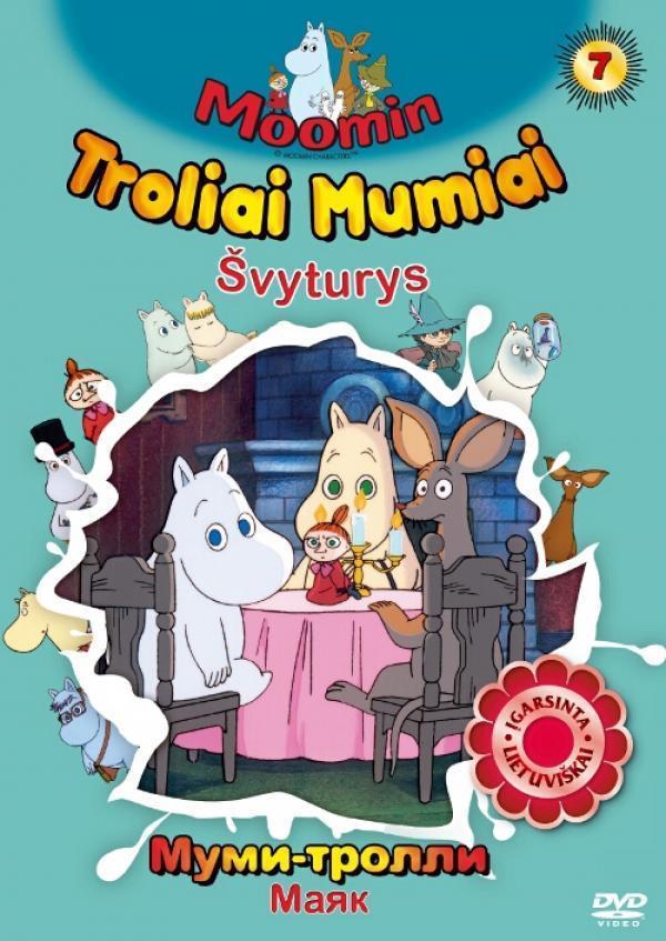 Troliai Mumiai. Švyturys (DVD) |