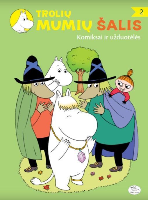 Trolių Mumių šalis. Komiksai ir užduotėlės 2 | Jukka Torvinen, Kiti Saarinen