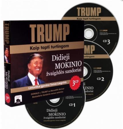 Trump: kaip tapti turtingam (garso knyga, 3 CD) | Donald J. Trump